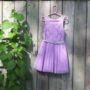 Mesh sparkly party summer dress size 4